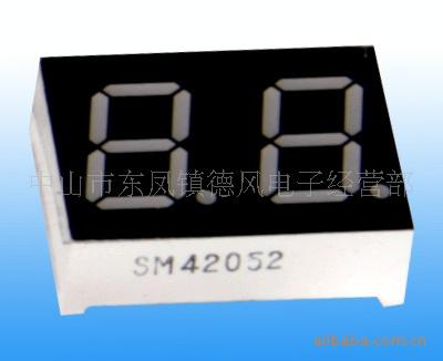 05英寸单位灰面高亮LED数码管图片
