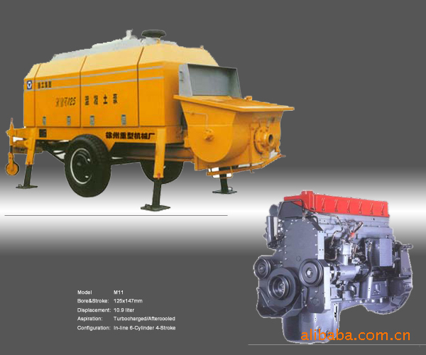 M11-C225H cummins,M11-C225H cummins flywheel housing 3165666 for Zhengzhou IndustryGJT112 engine SO20098