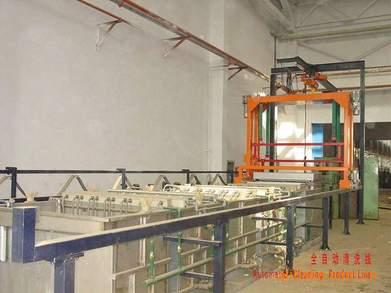 Automatic Cleaning Line