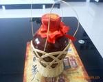 供应1斤陶瓷酒瓶全套(陶瓷瓶盖 内塞封口膜布块酒篮子)40套一件