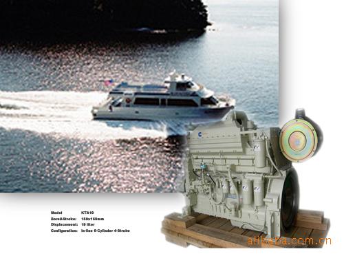 KTA19-M重庆康明斯船用发电机组