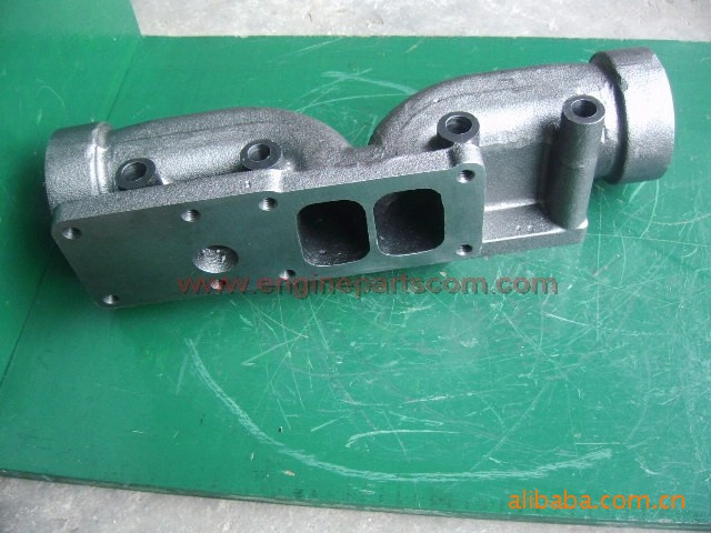 KTA19-C600 cummins exhaust manifold 3080980 for Construction engine SO40290