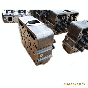 搅拌机气缸盖 搅拌机用的NT855发动机气缸盖3418529