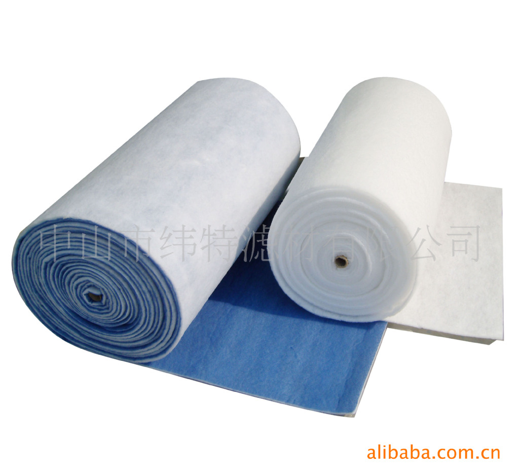 纬特效空气过滤棉,烤漆房进口过滤棉,净化过滤棉进风棉,