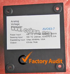 康明斯发电机AVC63-7电压调节器