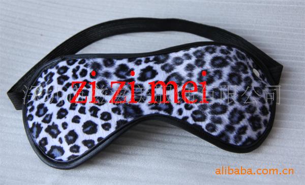 1122眼罩皮鞭手拍 外贸款 豹纹情趣3件套装,成人性用品