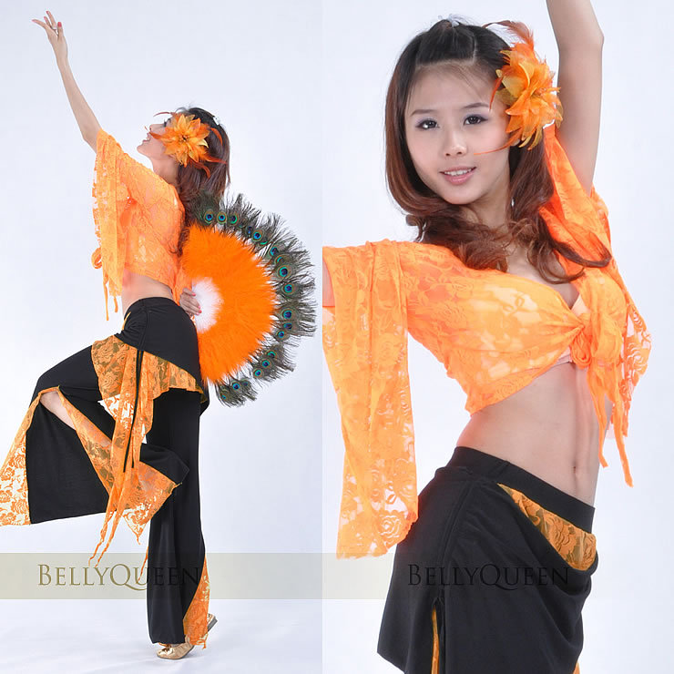 6e869651b3265e Belly dance costume- Lace Blouse +08   lace skirts       Official website  of bellyqueen