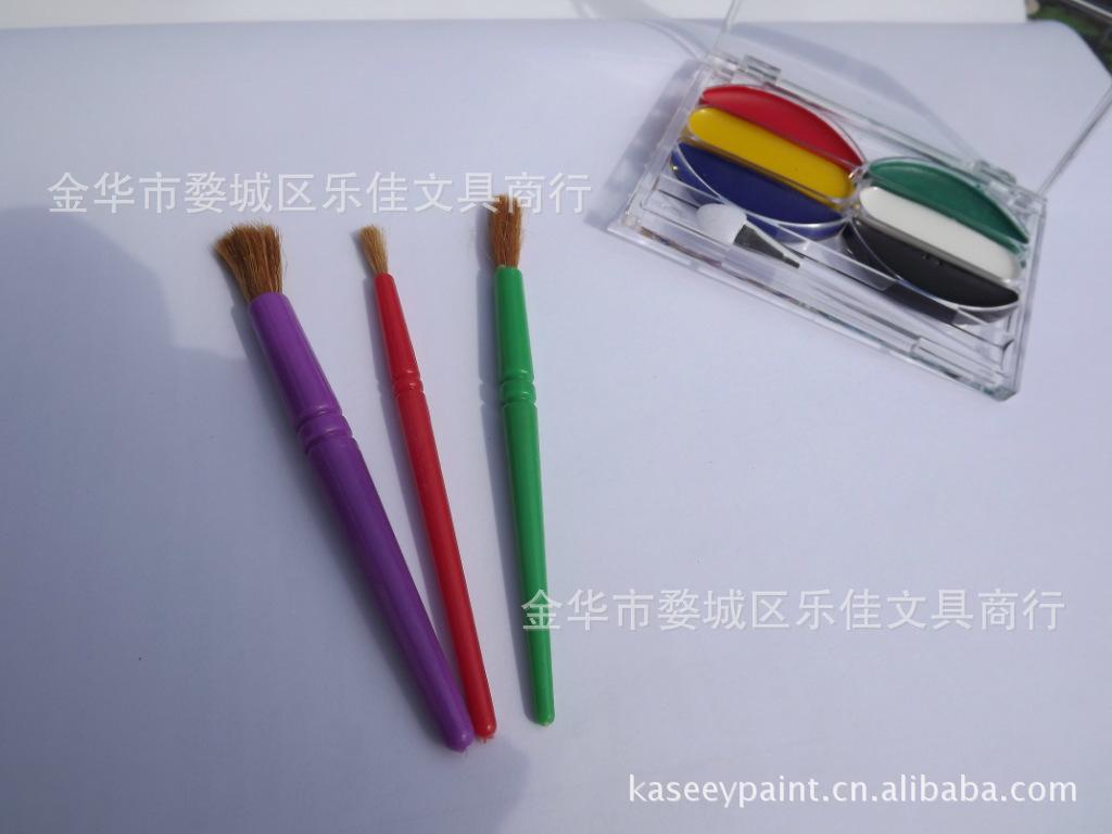 供应儿童美术绘画用海绵滚筒刷 黑色柄海绵滚筒刷 绘画用滚筒刷 -价