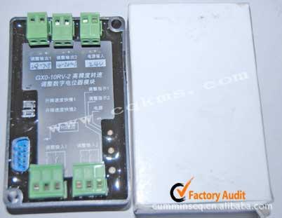 康明斯发动机配件压力控制器GX0-10RV-2