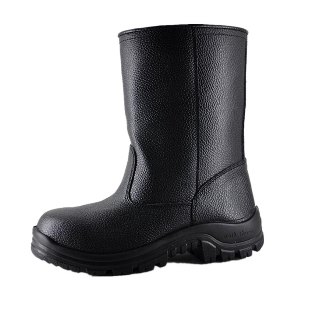 供应焊接劳保鞋防护鞋电焊工用劳保鞋电焊劳保用品批发高筒