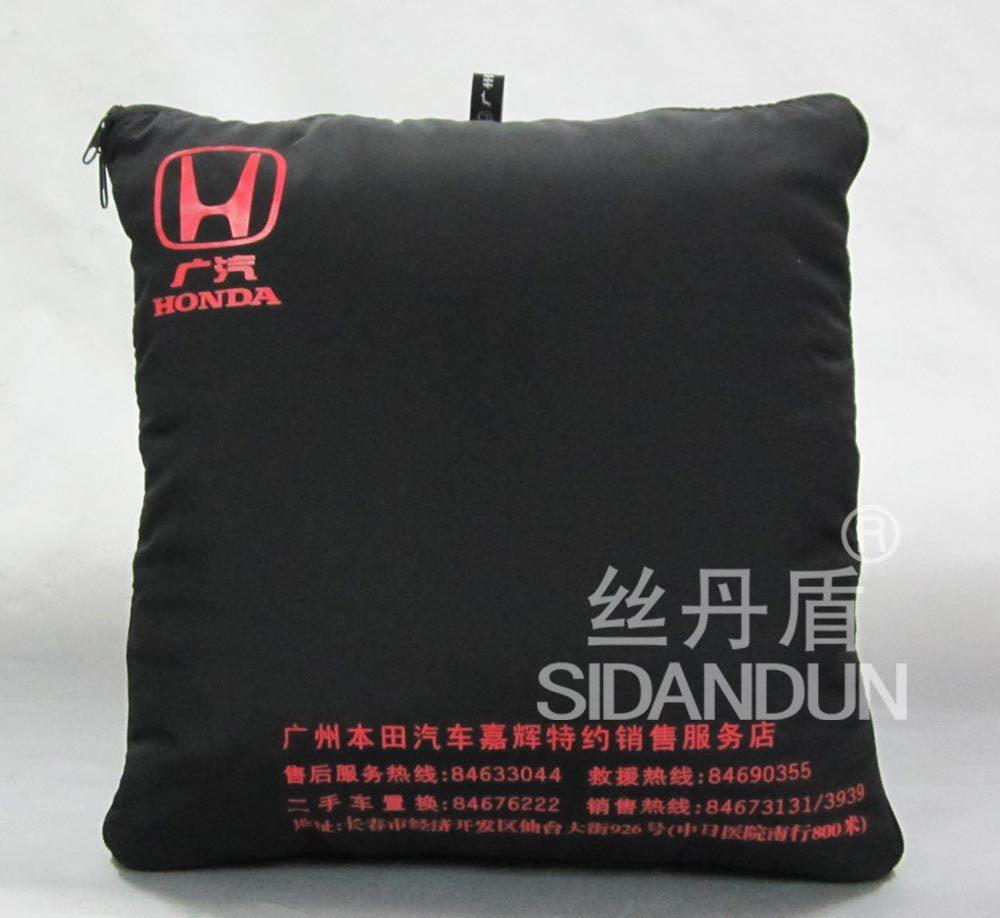 定做靠垫广告礼品抱枕被汽车东风本田商丘比特油耗大图片