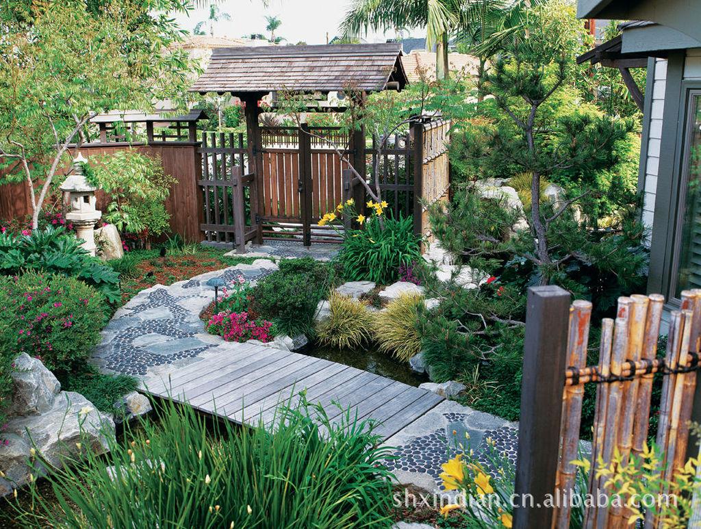 庭院绿化设计_佛山庭院景观绿化_室内庭院水景设计