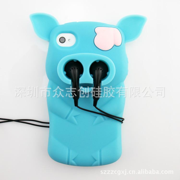 【厂家新品:苹果iphone5马赛克立体色块手机套