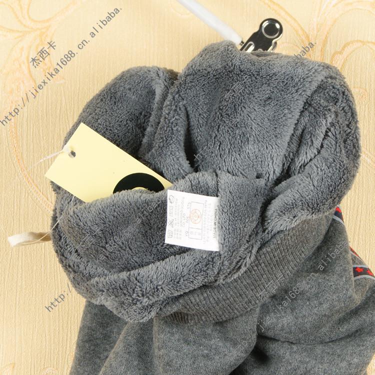 童装 冬款儿童棉裤 单面绒加绒双层保暖棉裤的详细介绍,包括140韩