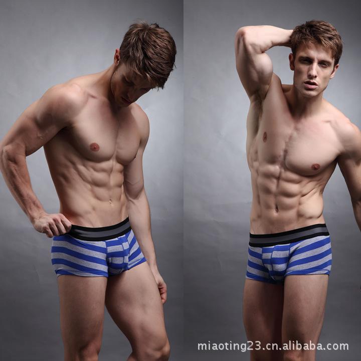AU tide Korean men underwear fashion underwear cotton men's
