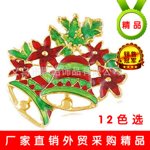 [W17034Y66] supply Christmas gifts wild clothing brooch luxury Christmas jewelry brooch wholesale