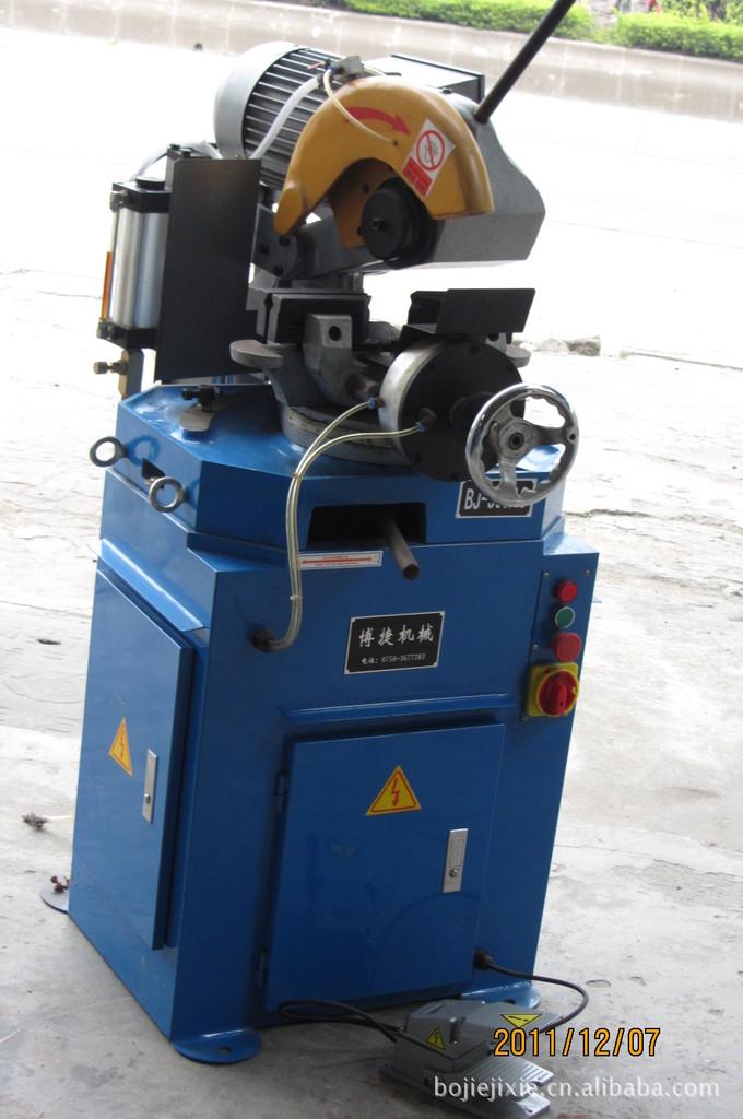 BJ-300AC气压半自动切管机,气压半自动金属圆锯机水切割机
