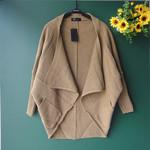 厂家直销 新 韩版女装大码中长款开衫外套YL0758 特价批发
