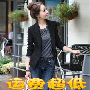 New Korean wild Slim a buckle small suit jacket large size women's suit wholesale