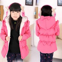 特价 冬款童装 加厚甜美淑女气质女童棉衣外套
