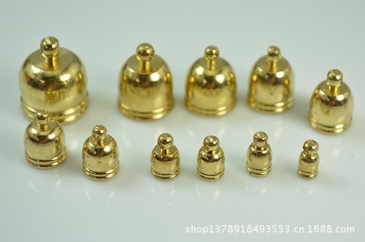 【地漏直销绳子吊钟帽子链条黄铜用铜帽六防防臭厂家图片