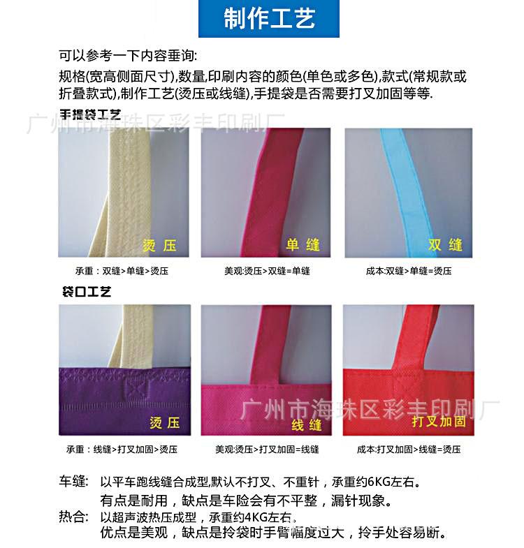 背包式 无纺布袋 手提袋 广告袋 购物袋 可印刷公司LOGO 订做图片,