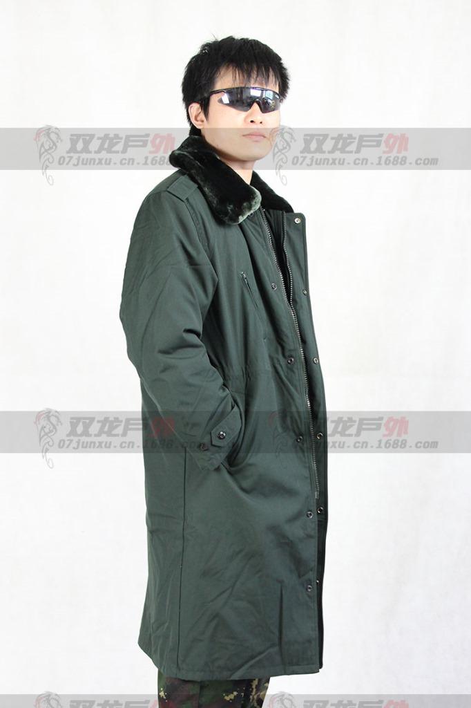 07士兵棉大衣 常服棉大衣 荒漠大衣 海洋大衣执勤抗寒 藏青大衣衣 -价图片