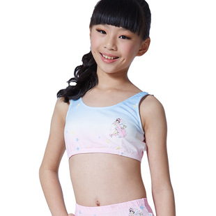 Spring and summer series wrapped chest cute teenage girls underwear bra factory wholesale