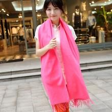 2013超长韩国秋冬仿羊绒纯色围巾,男女超大气质大披肩,围巾批发