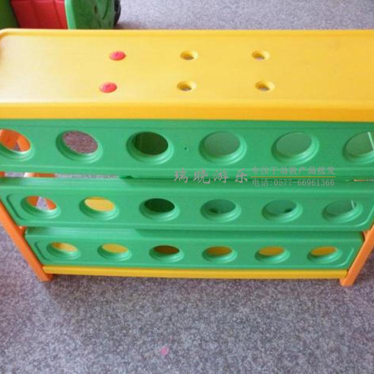 【幼儿园儿童书报图书柜小朋友塑料架书籍资碳化侧压竹皮图片