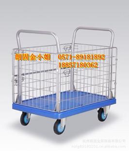 塑料车板静音手推车   承重300公斤.