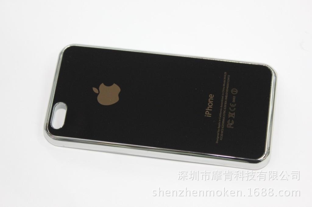 【视频5C苹果v视频壳镜面5C手机壳手机套保超苹果滑板图片
