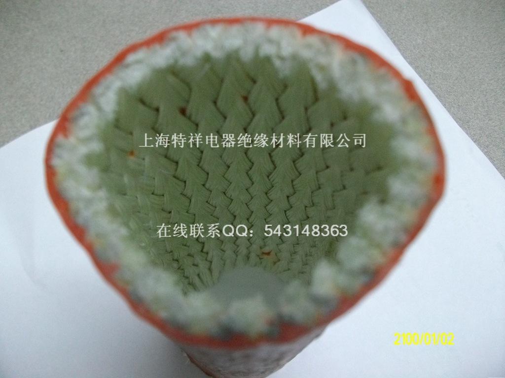 厂家直销 防火耐高温管 硅橡胶玻璃纤维耐火管 内纤维外硅