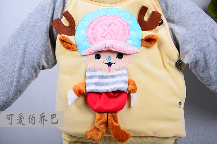 乔巴儿童服装_冬季乔巴童装婴儿衣服棉衣套装特价儿童棉服