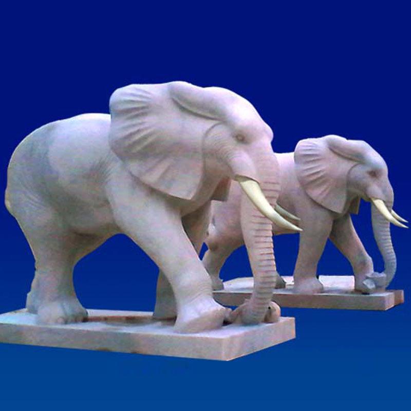 基础大象招财大象吉祥如意大象石雕红晚霞门学3dmax室内设计大象图片