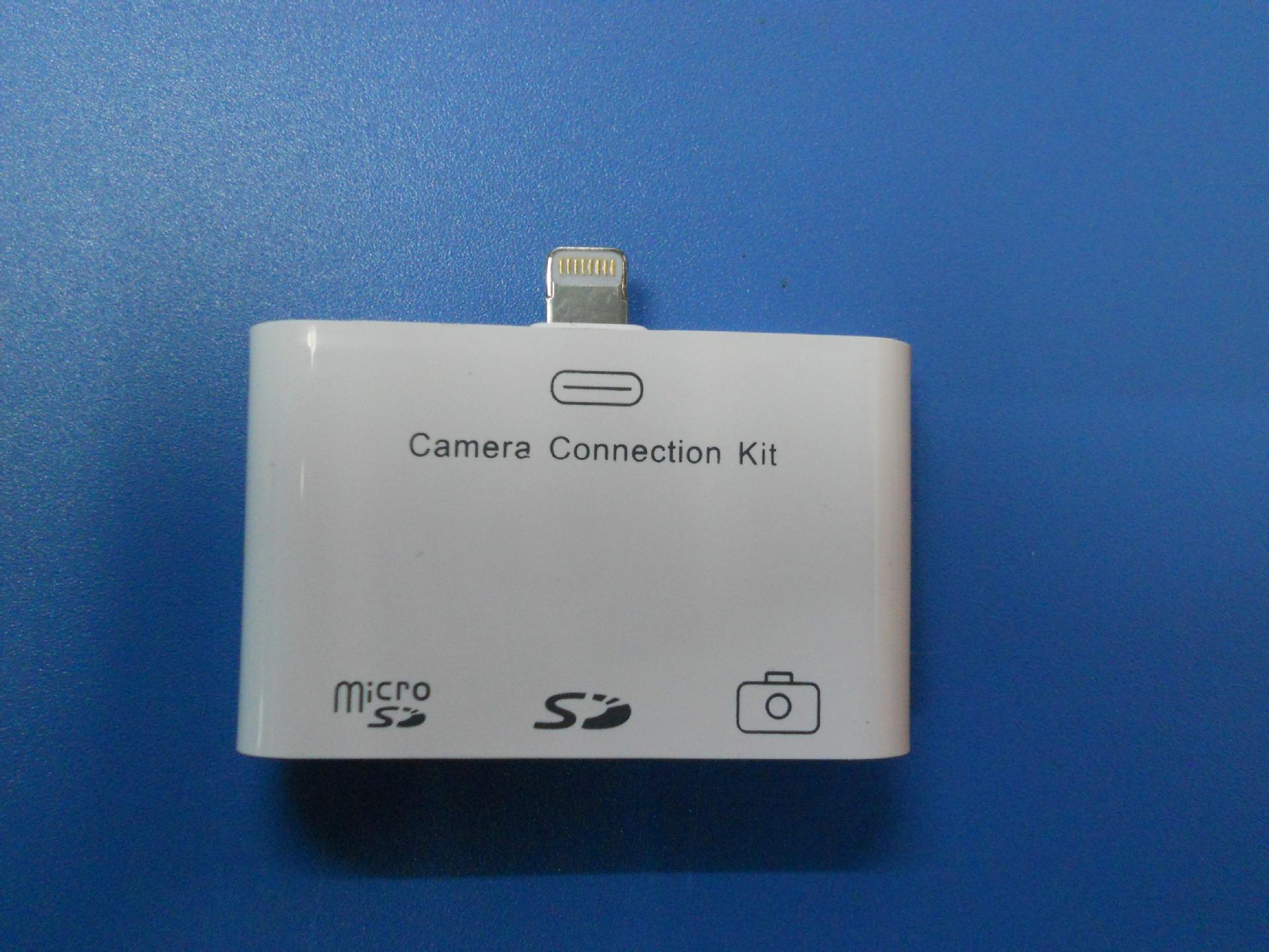 苹果迷你三合一读卡器多功读卡器大卡小卡内固定钉图片