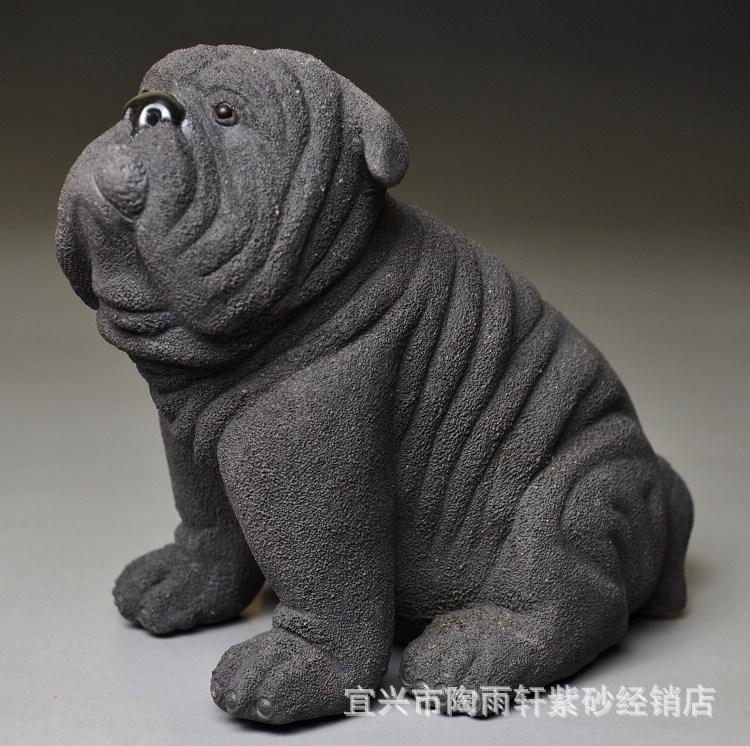 黑沙皮狗_