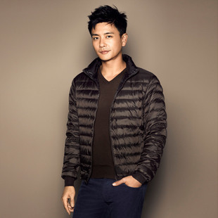 The new ultra-thin male models senior men's jackets wholesale brand jacket manufacturers