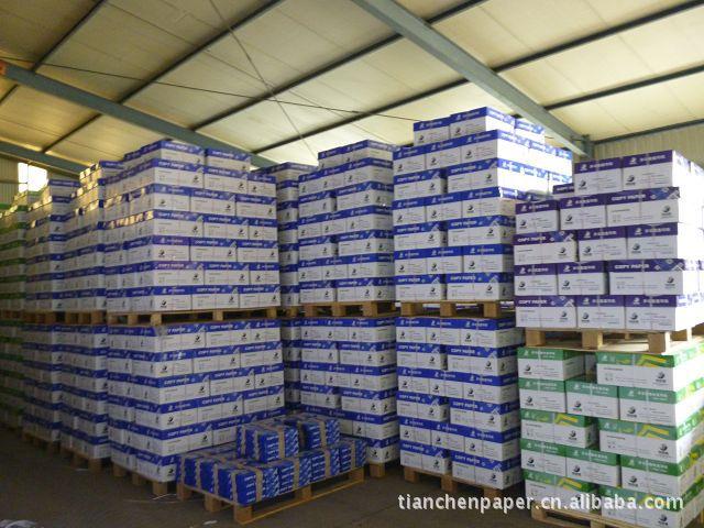 公司供应A4 70 克 80克复印纸防潮包装:用覆盖包装,防水