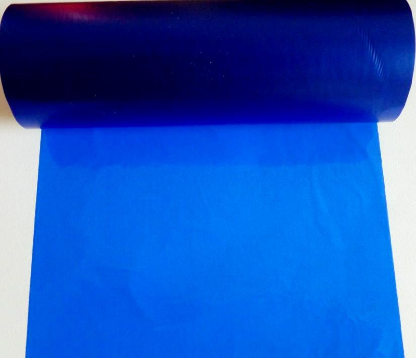 供应悬浮标签打印机专用深蓝色热转印混合色带60*600m