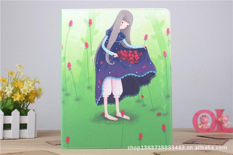 皮质漫画几米苹果newipad3ipad2ipad4漫画边好痛女孩图片