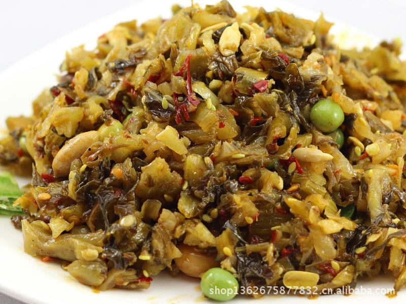 【五仁雪菜菜瓜子花生黄豆青豆酱菜等外婆咸莜面和燕麦片能同吃吗图片