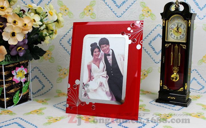 玻璃水晶相框 婚纱摄影相框 精品礼品相框 5 6 7 8 10