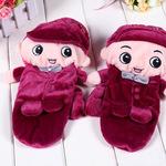 小魔女新款手套[K-8653]新款卡通布艺保暖手套批发 淘宝热销手套