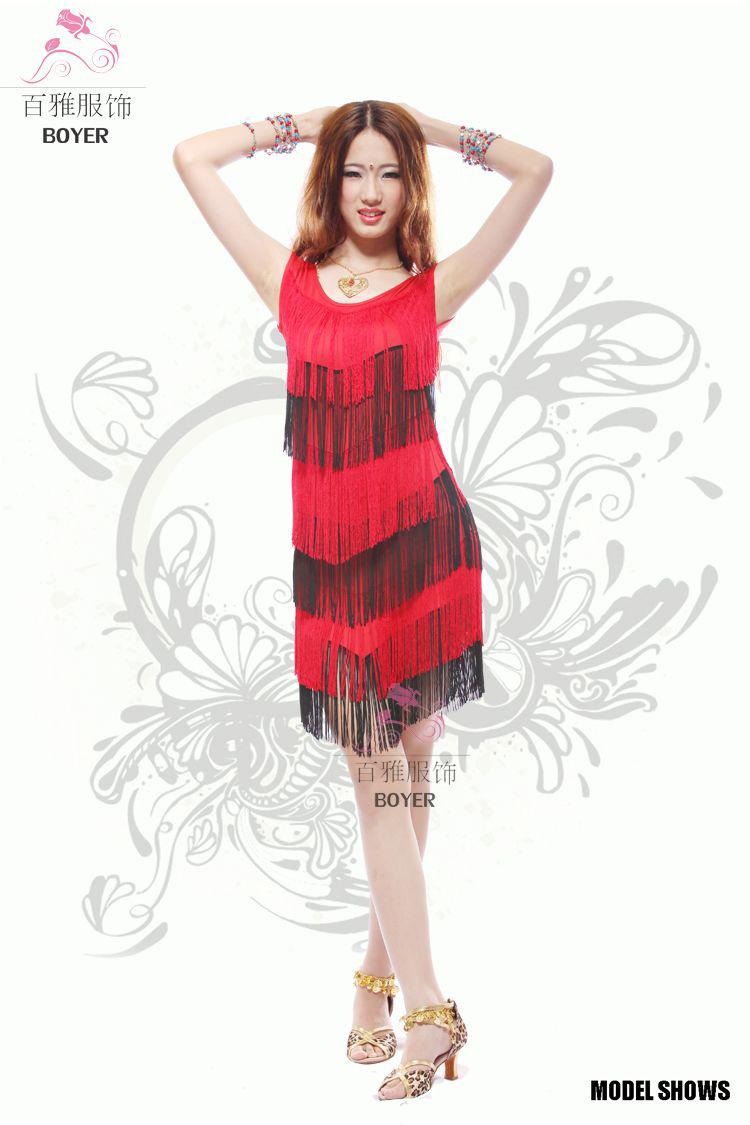 流苏裙服装_
