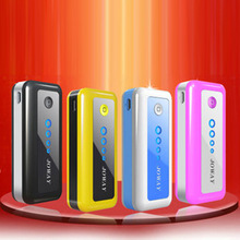 厂家批发 5600毫安 苹果手机充电宝 带照明 乔威两节移动电源