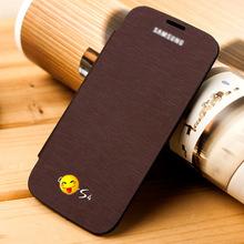 工厂批发新款三星S4手机皮套 保护壳 I9500手机壳 拆电池盖配件