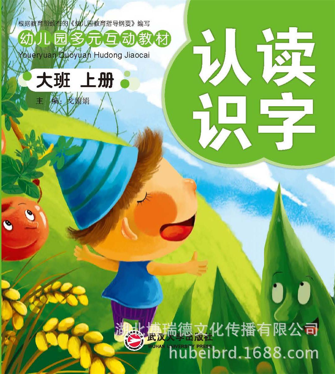 【幼儿园教材特价促销】简装多元互动教材-大班(上册)
