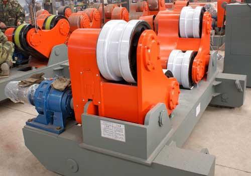 自调60吨行走喷漆焊接滚轮架|焊接辅机专家 赶快订购