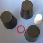 【优质耐用】氟橡胶塞  圆椎形硅胶 耐高温橡胶堵 橡胶堵头 胶塞